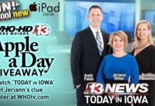 Who TV Apple A Day Giveaway Contest