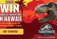 Kellogg Jurassic Adventure Sweepstakes