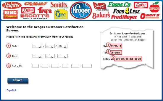Kroger Customer Satisfaction Survey Sweepstakes, www.krogerfeedback.com Monthly Sweepstakes 2018