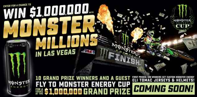 Monster Million Sweepstakes