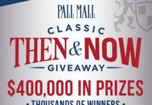 Pallmallusa Then and Now Giveaway