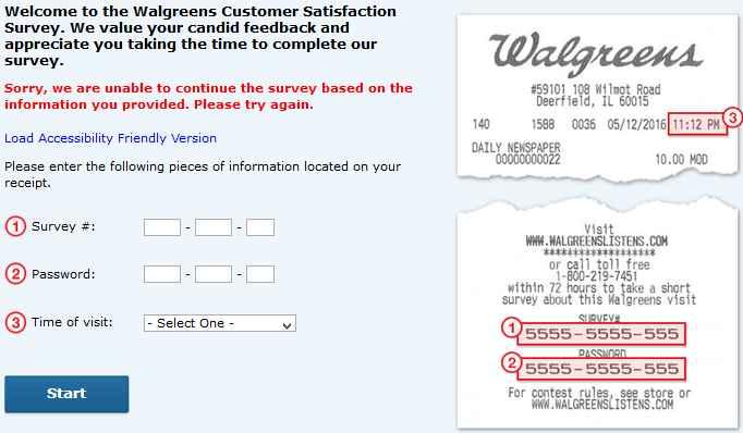 www.Walgreenslistens.com Survey 2021