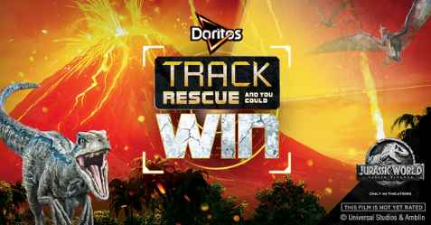 DORITOS Jurassic World: Fallen Kingdom Track. Rescue. Win Sweepstakes