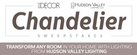 ELLE DECOR Hudson Valley Lighting Sweepstakes