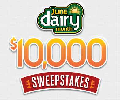 Easy Home Meals June Dairy Month $10,000 Sweepstakes