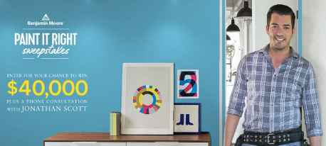 HGTV Benjamin Moore Paint It Right Sweepstakes