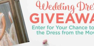 Hallmark Channel June Weddings Wedding Dress Sweepstakes