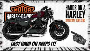 Hands on a Harley Contest