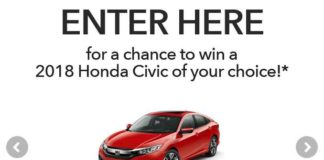 2018 Honda Stage At Music Festival Sweepstakes