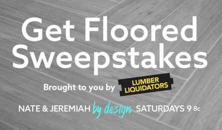 TLC Nate and Jeremiah By Design Sweepstakes