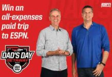 Sport Clips Dad's Day Getaway Sweepstakes
