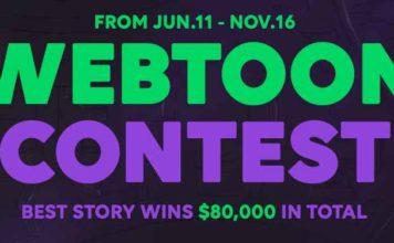 WEBTOON Discover Creator Contest