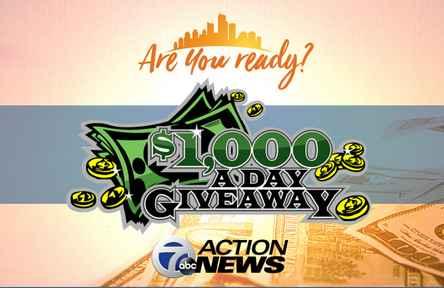 WXYZ $1000 Giveaway Contest