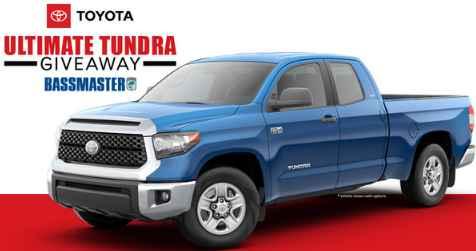 Bassmaster Toyota Tundra Giveaway