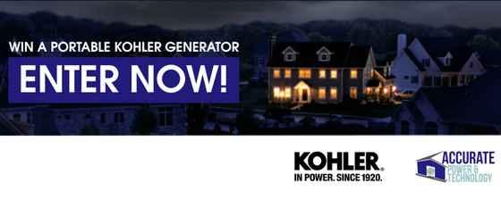 Click Orlando Kohler Generator Giveaway Contest