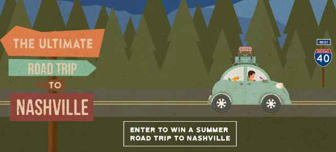 Grand Ole Opry Road Trip Sweepstakes