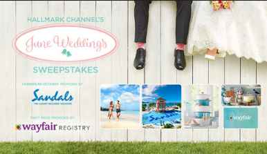 Hallmark Channel June Wedding Sweepstakes