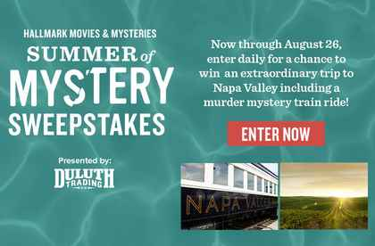 Hallmark Movies & Mysteries Summer of Mystery Sweepstakes