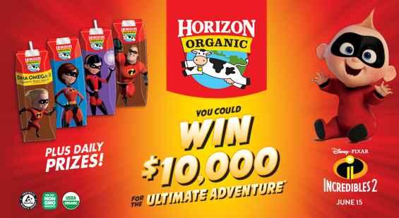Horizon Organic Ultimate Adventure Sweepstakes
