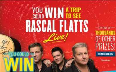 Sweet Country Summer Hostess Rascal Flatts Sweepstakes