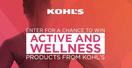 KOHL'S Active and Wellness Event Sweepstakes