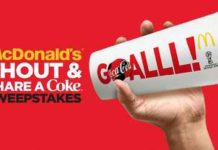 McDonald's Shout and Share Sweepstakes