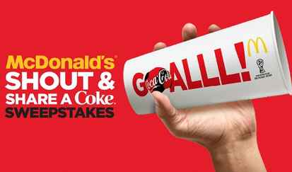 McDonald's Coke Shout and Share Sweepstakes