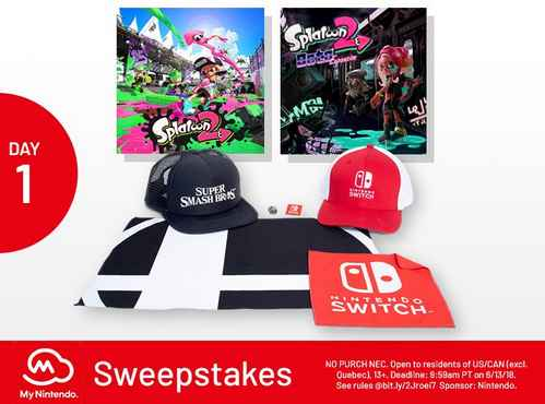 My Nintendo Sweepstakes