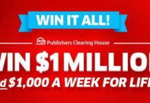 PCH Win It All Sweepstakes