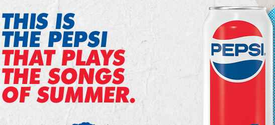 Pepsi Summer Playlist Sweepstakes