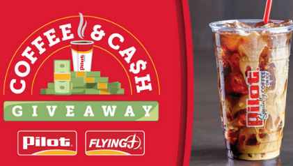 Pilot Flying J Coffee and Cash Giveaway