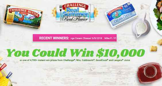 Real Summer Real Flavor Instant Win Sweepstakes