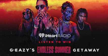 iHeartRadio G-Eazy's Endless Summer Getaway Sweepstakes