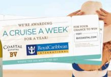 BV Coastal Estates Cruise A Week Sweepstakes