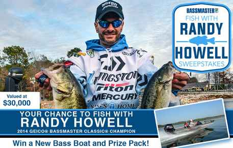 Bassmaster Randy Howell Sweepstakes