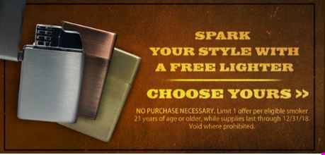 Black And Mild Lighter Giveaway