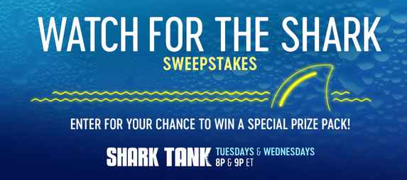 CNBC Shark Tank Sweepstakes Code Word