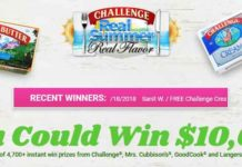Challenge Butter Real Summer, Real Flavor Sweepstakes