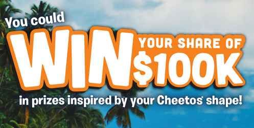 Cheetos Win What You See Promotion