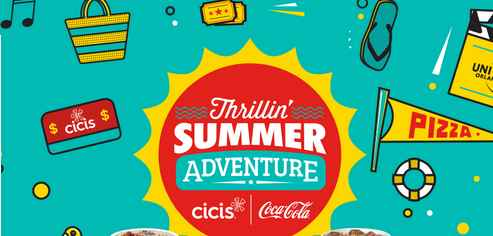 Coca-Cola Cicis Thrillin' Summer Sweepstakes