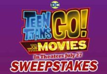 Dippin' Dots Teen Titans Go To the Movies Sweepstakes