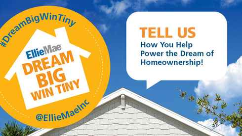 Ellie Mae Dream Big, Win Tiny House Sweepstakes