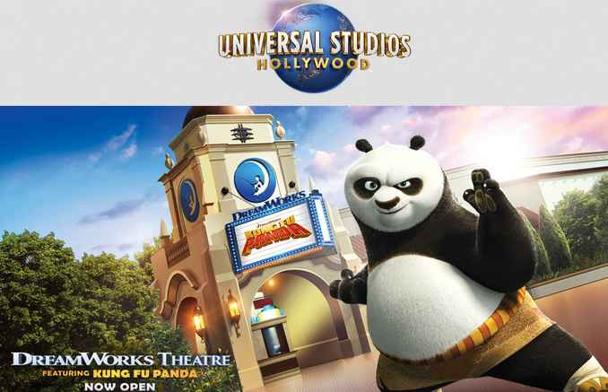 Extra TV Dreamworks Theatre Kung Fu Panda Sweepstakes