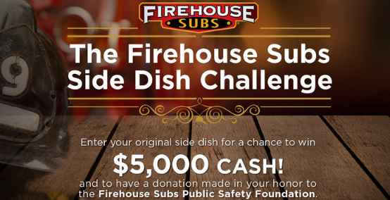 Food Network Firehouse Subs Side Dish Challenge