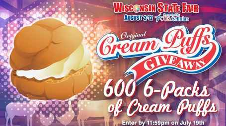 Fox 6 Cream Puff Giveaway