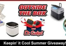 "Foxla Good Day LA's Dr. Gadget ""Keepin' it Cool"" Giveaway"