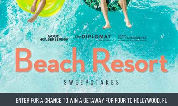 Good Housekeeping Beach Resort Sweepstakes