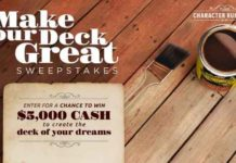 HGTV Make Your Deck Great Sweepstakes
