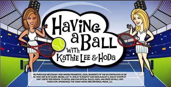 Having a Ball with Kathie Lee and Hoda Contest
