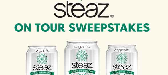Steaz On Tour Sweepstakes